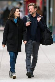 Annie Parisse and Paul Sparks Stills Out in New York 2018/03/28 5
