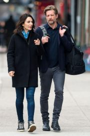 Annie Parisse and Paul Sparks Stills Out in New York 2018/03/28 6