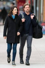 Annie Parisse and Paul Sparks Stills Out in New York 2018/03/28 7