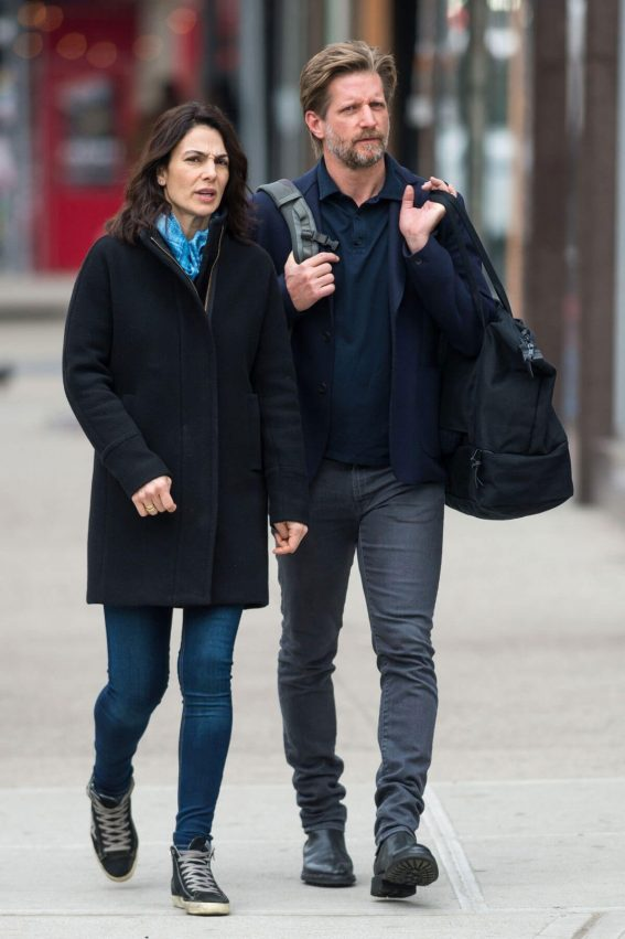 Annie Parisse and Paul Sparks Stills Out in New York 2018/03/28 8