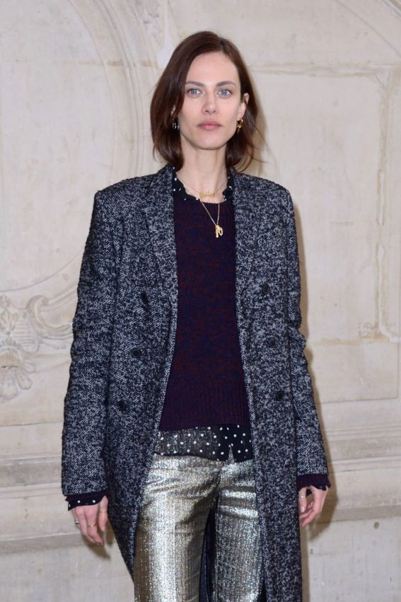 Aymeline Valade Stills at Christian Dior Show at Paris Fashion Week 2018/02/27