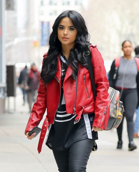Becky G Stills Out and About in New York 2018/03/28 8