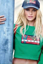Britney Spears Poses for Kenzo Spring 2018 Campaign Photos