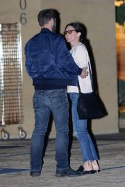 Courteney Cox and Johnny McDaid Stills Night Out in Malibu 2018/03/22