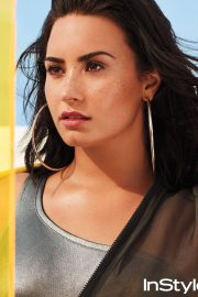 Demi Lovato Poses for Instyle Magazine, April 2018 Issue