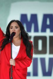 Demi Lovato Stills at March for Our Lives in Washington, D.C. 2018/03/24
