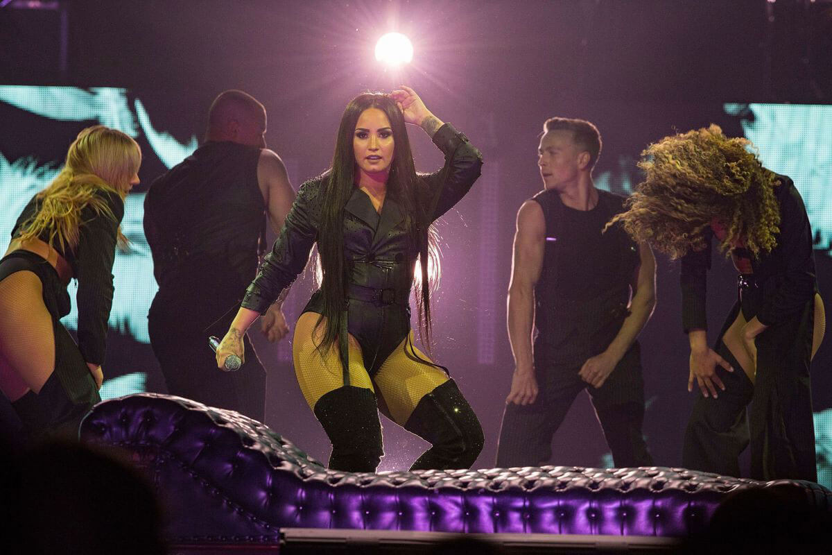 Demi Lovato Stills Performs at Her Tell Me You Love Me ...