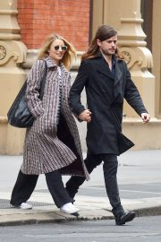 Dianna Agron and Winston Marshall Stills Out in New York 2018/02/25