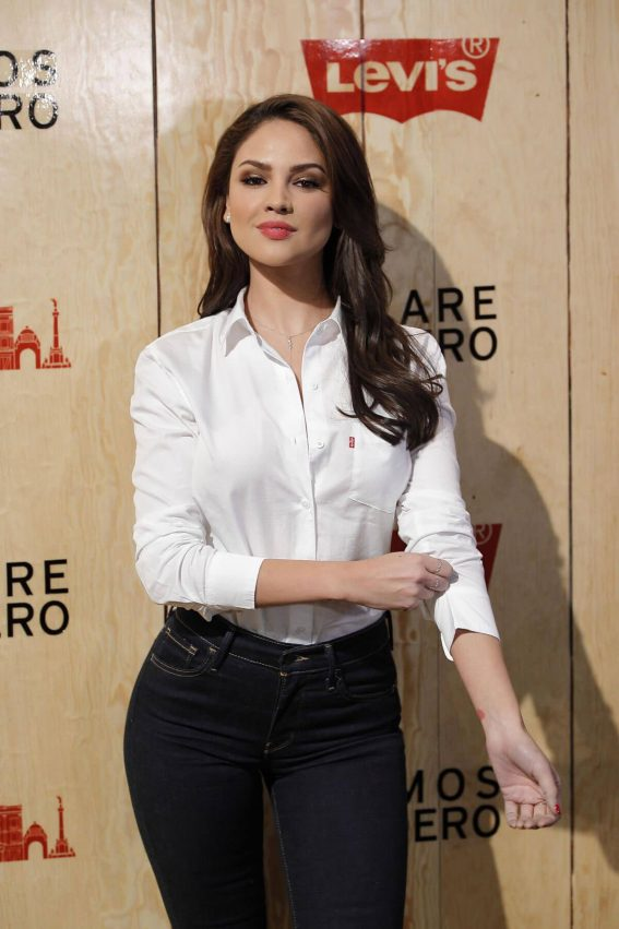 Eiza Gonzalez Stills at Levi's Store Opening in Mexico City 2018/03/22