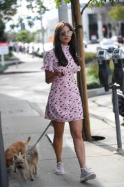 Eiza Gonzalez Stills Walks Her Dogs in Los Angeles 2018/03/26