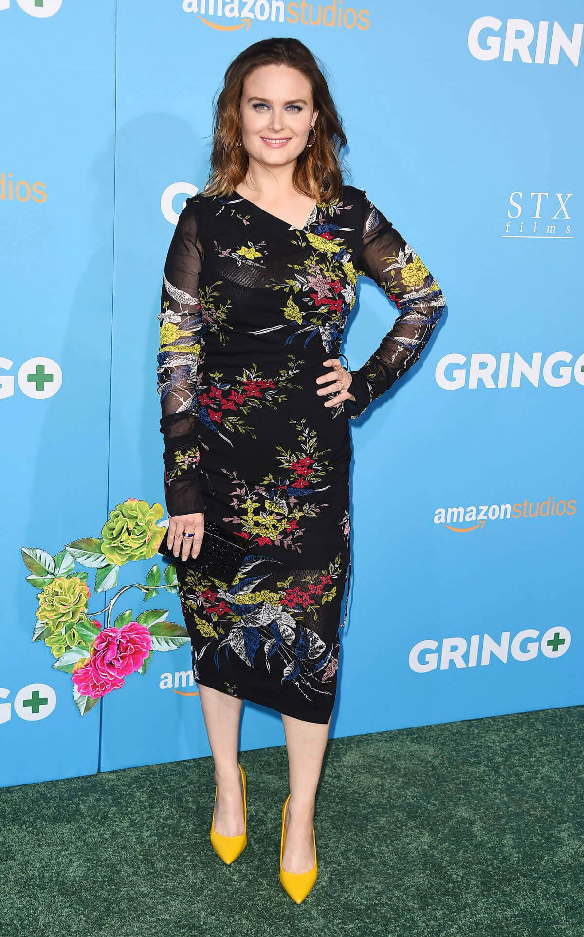 Emily Deschanel Stills at Gringo Premiere in Los Angeles 2018/03/06