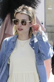 Emma Roberts Stills Out and About in Beverly Hills 2018/03/17