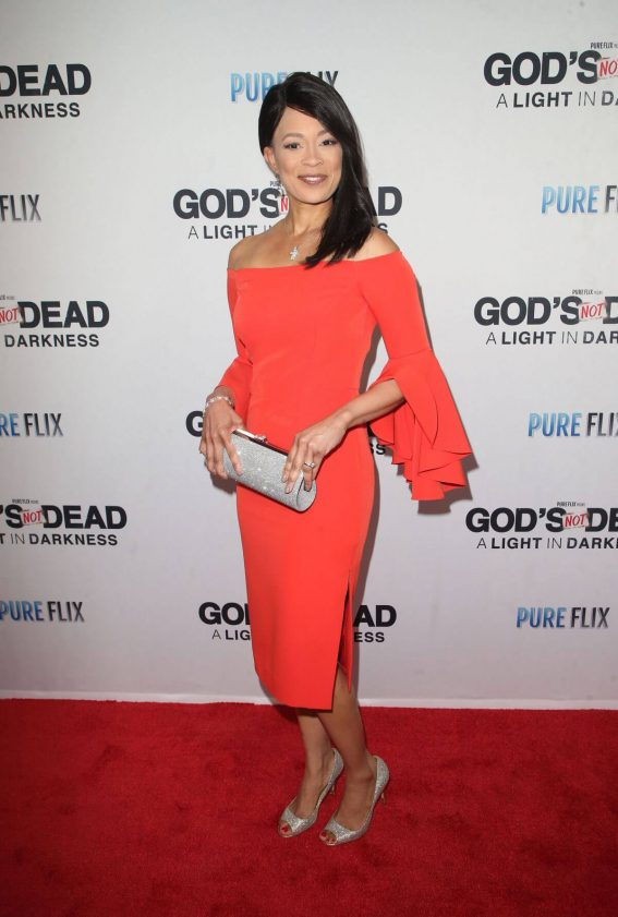 Fanchon Stinger Stills at God's Not Dead: A Light in Darkness Premiere in Los Angeles 2018/03/20