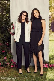 Gal Gadot and Elizabeth Stewart Poses for The Hollywood Reporter, March 2018 Issue