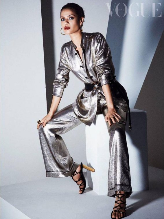 Gugu Mbatha-Raw Poses for Vogue Magazine, April 2018 Issue