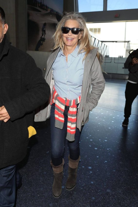 Heather Thomas Stills at LAX Airport in Los Angeles 2018/02/27
