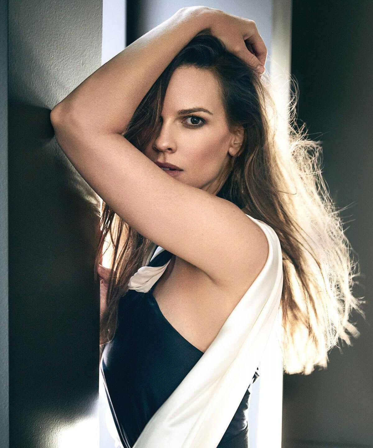 Hilary Swank Stills in Los Angeles Confidential Magazine, Spring/Summer 2018