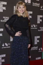 Imogen Poots Stills at Mobile Homes Premiere at Glasgow Film Festival 2018/02/26