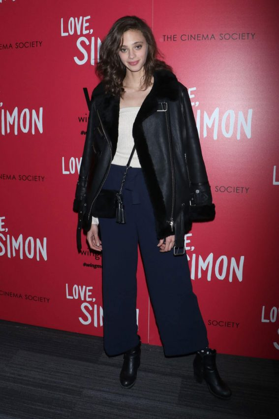 Jac Summers Stills at Love, Simon Premiere in New York 2018/03/08