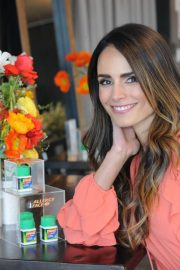 Jordana Brewster Stills at Zyrtec and Create & Cultivate Panel to Talk Allergy Face in New York 2018/03/28 4