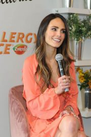 Jordana Brewster Stills at Zyrtec and Create & Cultivate Panel to Talk Allergy Face in New York 2018/03/28 6