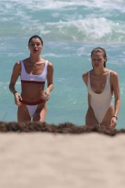 Josie Canseco and Bella Banos Stills in Swimsuits on the Beach in Miami 2018/03/28 1