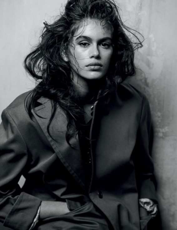 Kaia Gerber Poses for Interview Magazine February 2018 Issue