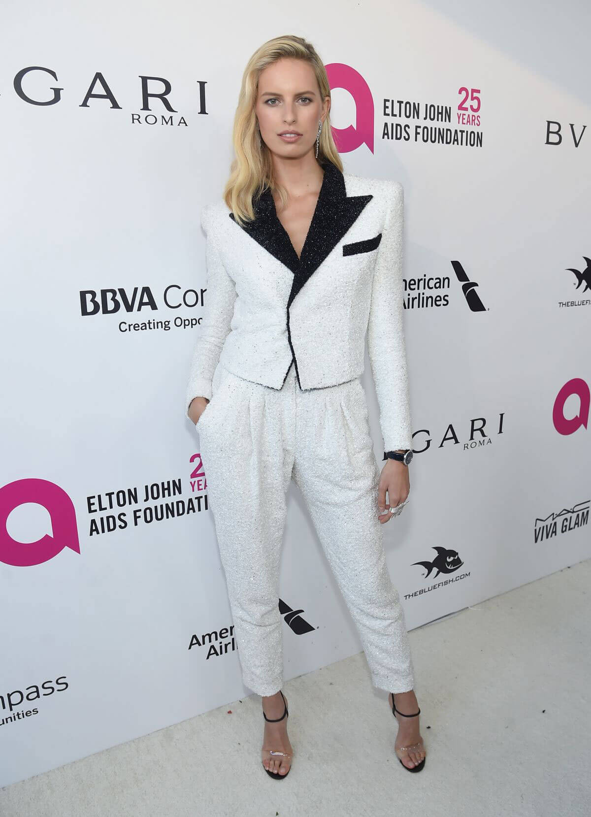 Karolina Kurkova Stills at Elton John Aids Foundation Academy Awards Viewing Party in Los Angeles 2018/03/04