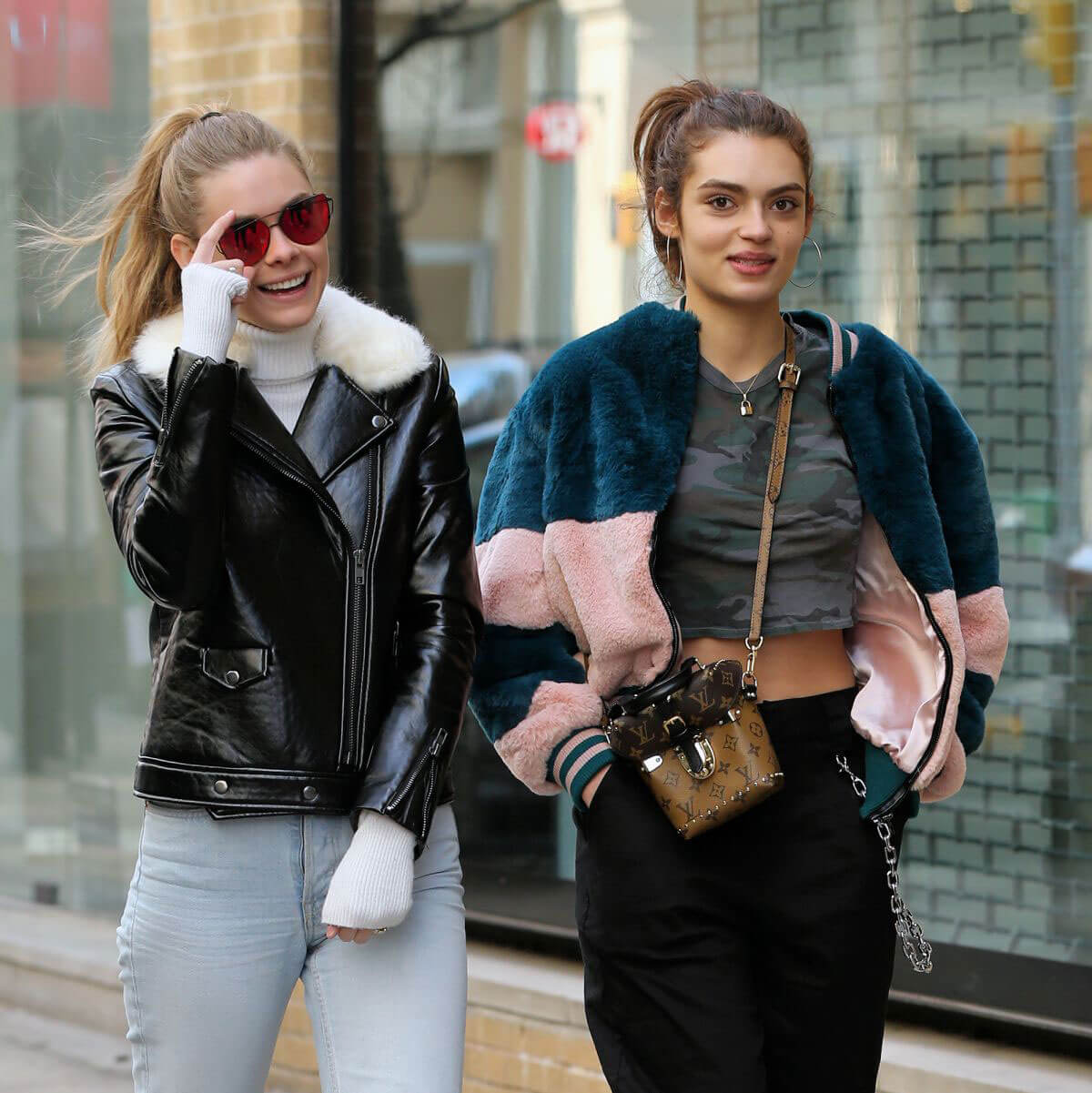Karsyn Bartruff and Rubina Dyan Stills Out Shopping in New York 2018/03/17