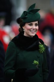 Kate Middleton Stills at St. Patrick's Day Parade in London 2018/03/17