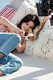 Kendall Jenner Poses for Tod's Spring 2018 Collection Photos