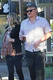 Kirsten Dunst and Jesse Plemons Stills out for Coffee in Toluca Lake 2018/03/26