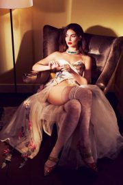 Lily Aldridge Poses for Financial Times, March 2018 Issue