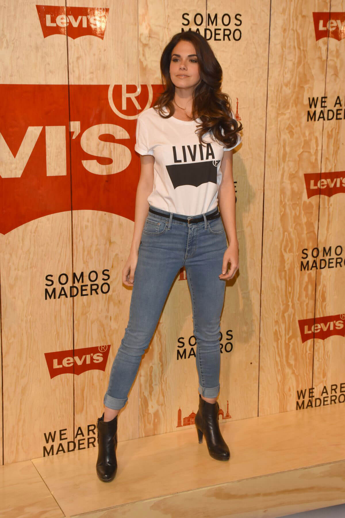 Livia Brito Stills at Levi's Store Opening in Mexico City 2018/03/22