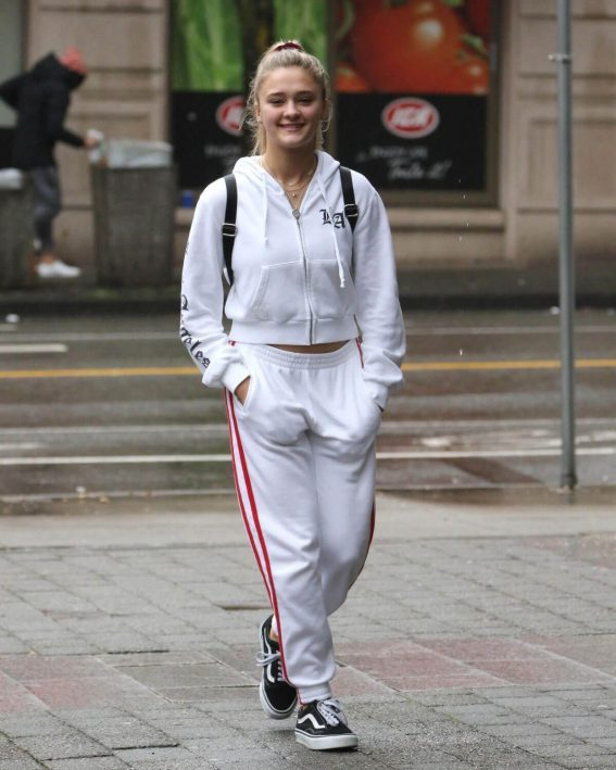 Lizzy Greene Stills Out and About in Vancouver 2018/03/18