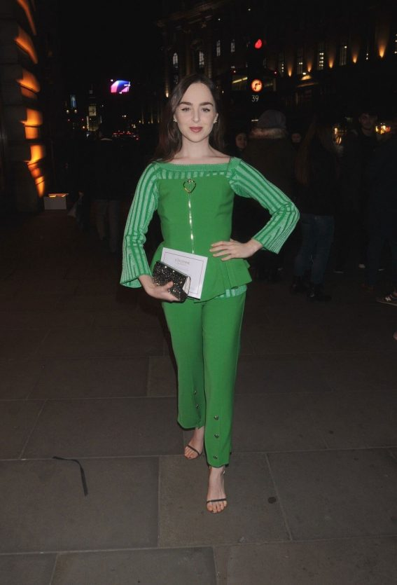 Louisa Connolly-Burnham Stills at L'Occitane en Provence Store Opening Party in London 2018/02/08