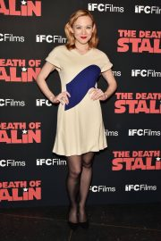 Louisa Krause Stills at The Death of Stalin Premiere in New York 2018/03/08