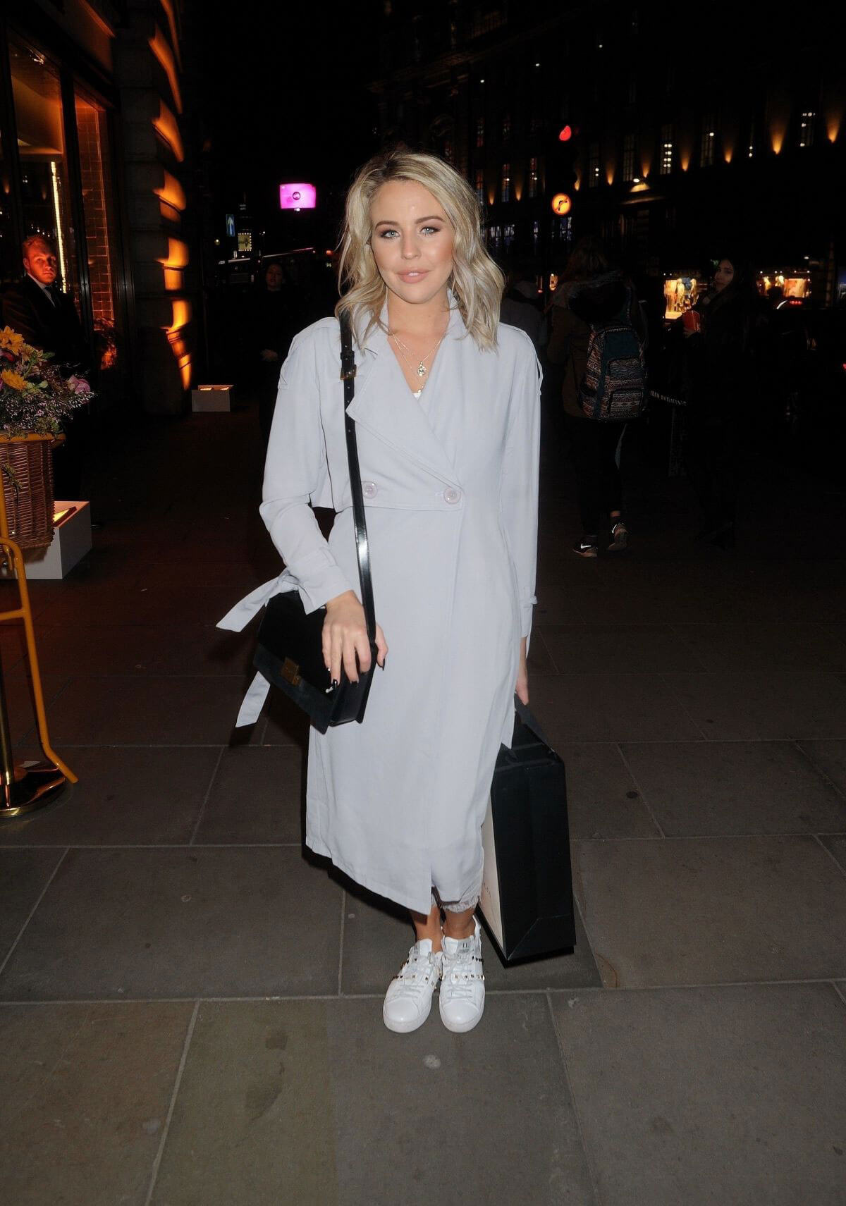 Lydia Bright Stills at L'Occitane en Provence Store Opening Party in London 2018/02/08