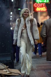 Maggie Gyllenhaal Stills on the Set of The Deuce, Season 2 in New York 2018/03/16