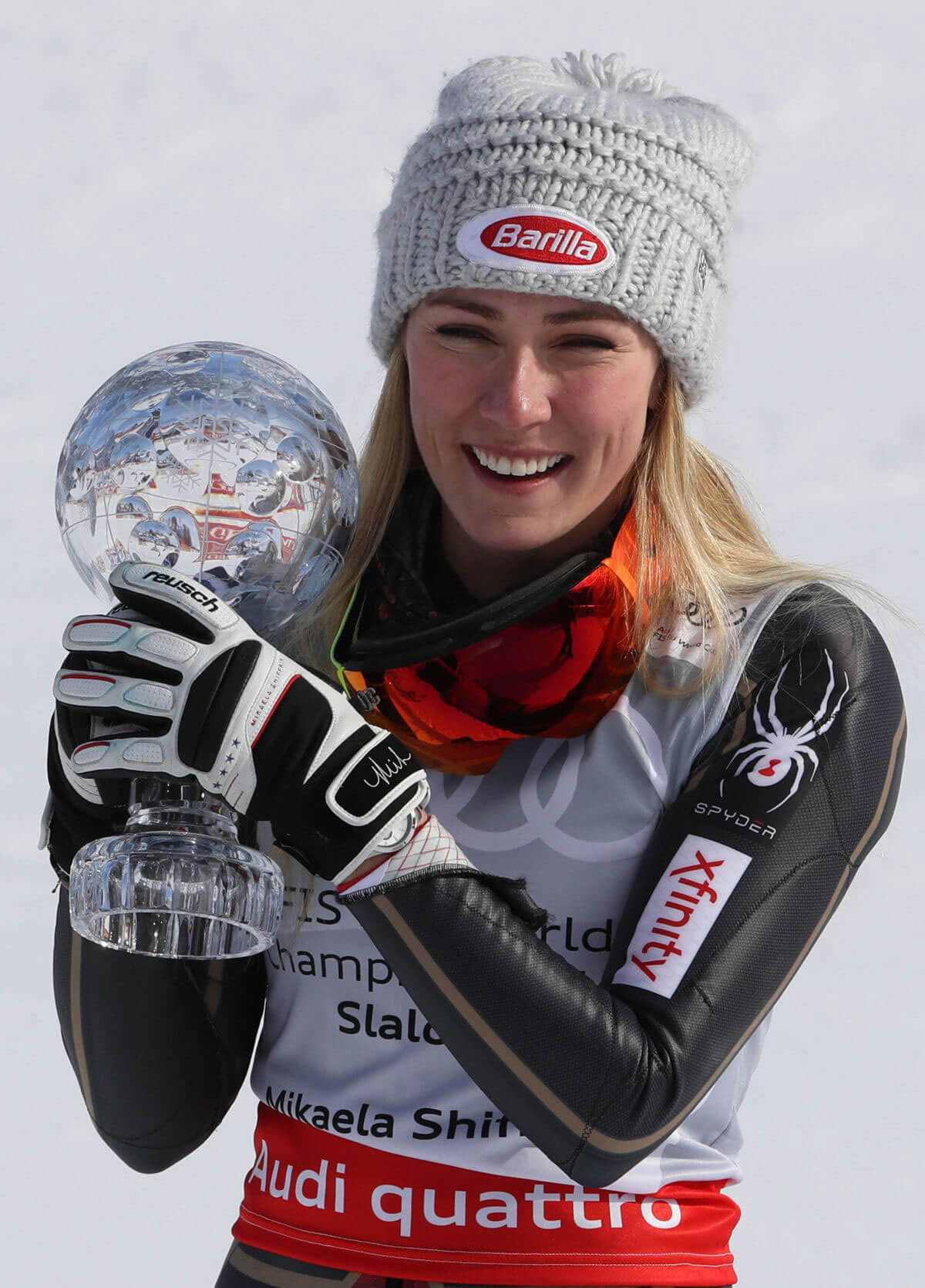 Mikaela Shiffrin Stills Wins Audi FIS Alpine Ski World Cup Final in Are 2018/03/17