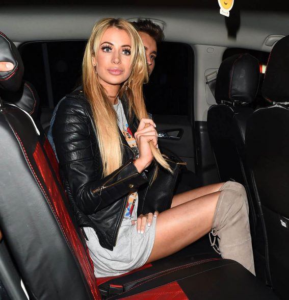 Olivia Attwood Stills at Night Out in London 2018/03/28 1