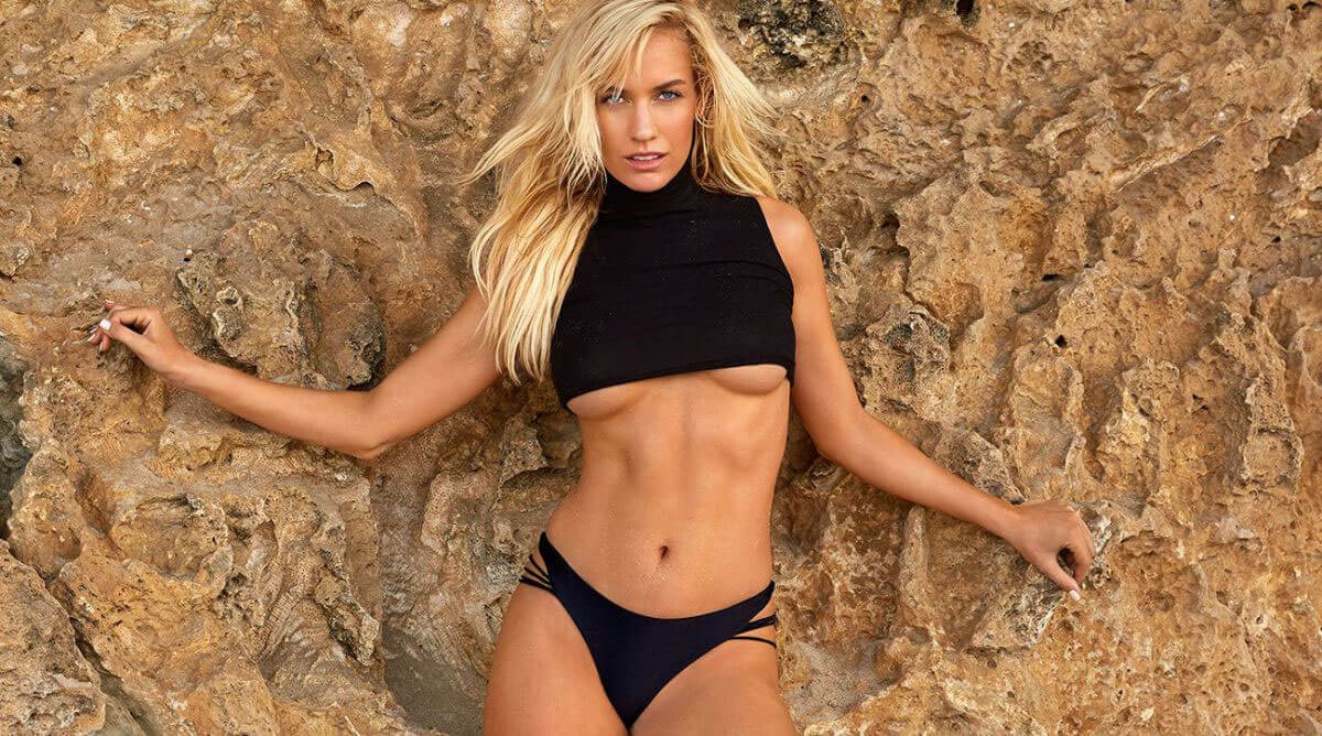 Paige Spiranac Stills in Sports Illustrated Swimsuit Edition 2018