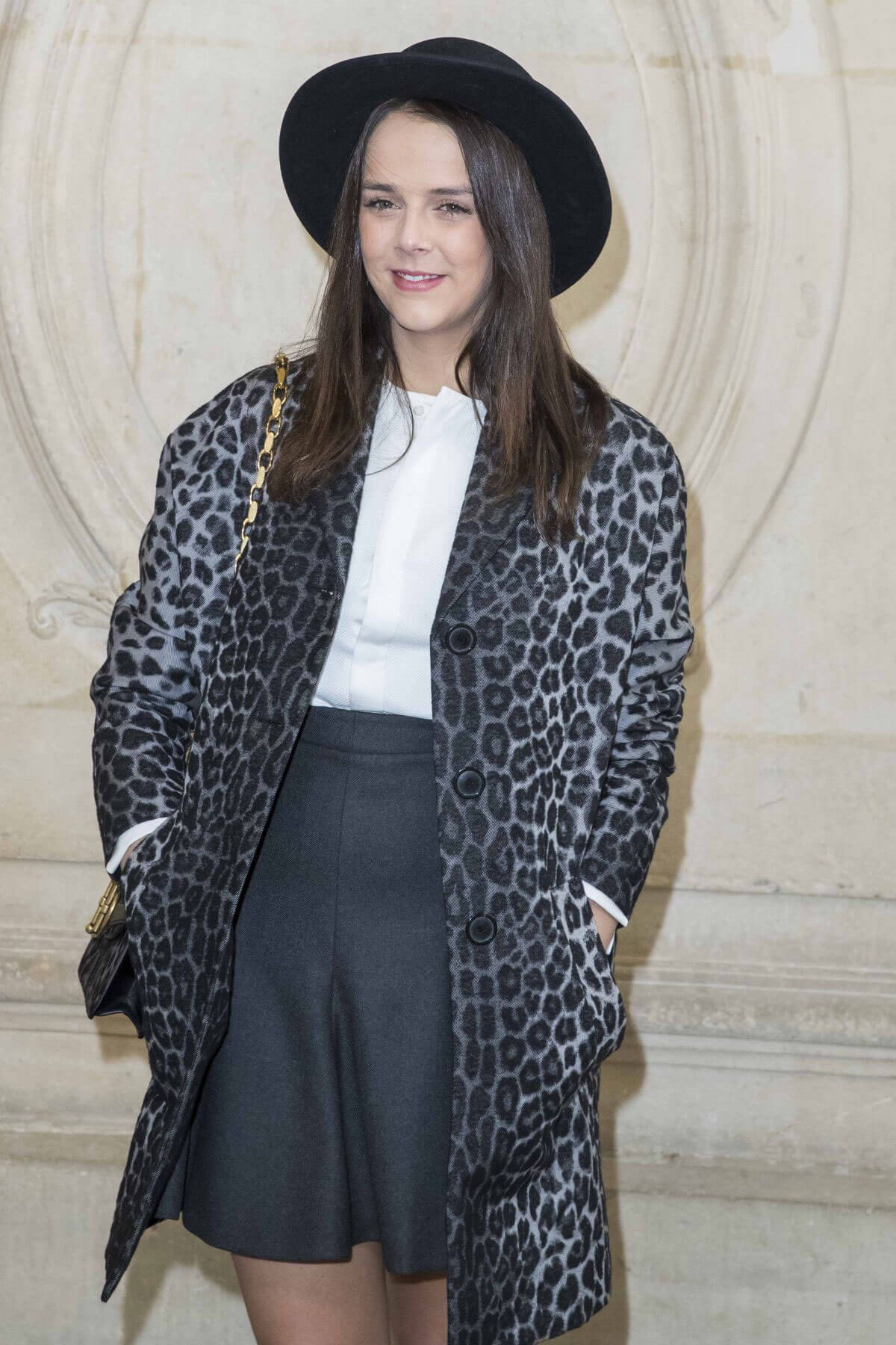 Pauline Ducruet Stills at Christian Dior Show at Paris Fashion Week 2018/02/27