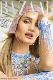 Rosie Huntington-Whiteley Stills in Harper's Bazaar Magazine, Arabia April 2018 Issue 10
