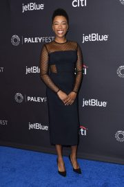 Samira Wiley Stills at The Handmaid's Tale Panel at Paleyfest in Los Angeles 2018/03/18
