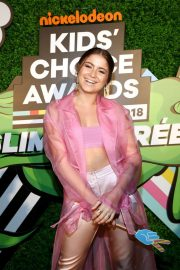 Sofia Reyes Stills at Nickelodeon Kids Choice Awards Slime Soiree in Venice 2018/03/23