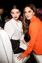 Sonia Ben Ammar and Elizabeth Chambers Stills at L'Officiel USA Launch Dinner in New York 2018/02/08