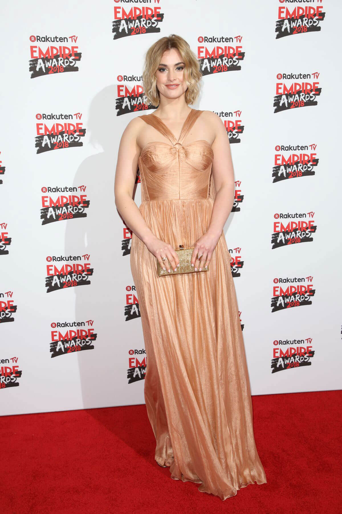 Stefanie Martini Stills at Empire Film Awards in London 2018/03/18