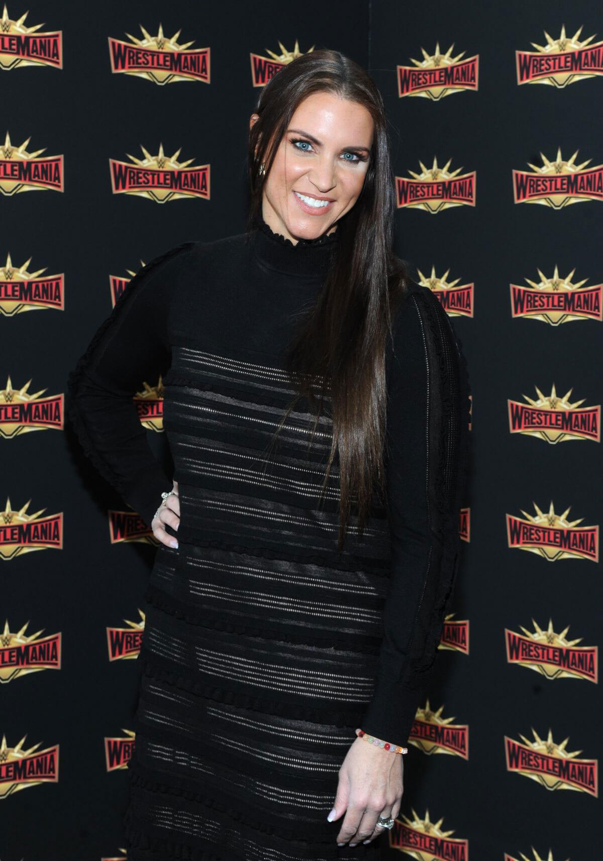 Stephanie McMahon Stills at WWE Press Conference at Met Life Stadium in East Rutherford 2018/03/16