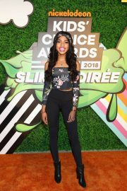 Teala Dunn Stills at Nickelodeon Kids' Choice Awards Slime Soiree in Venice 2018/03/23